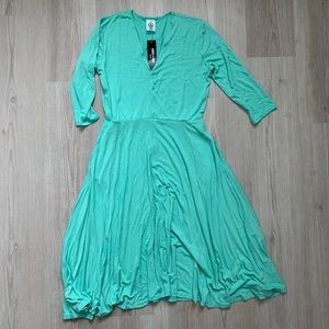 Mint green Agnes and Dora dress